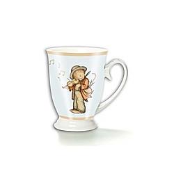 Tasse Hummel: »Ein fröhliches Herz«