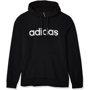 adidas Herren E CAMO LIN SWEA Sweatshirt, Black/White, S
