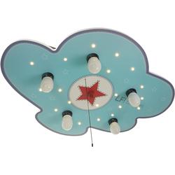 NIERMANN Deckenleuchten Deckenleuchte Wolke, Lief for Boys blau