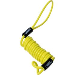 ABUS Memory Cable Herinneringskabel, geel, 90 cm