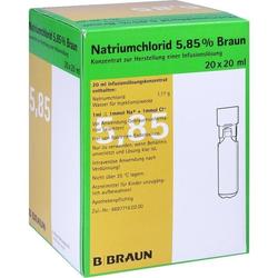 NATRIUMCHLORID 5.85% MPC 20ML