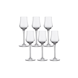 LEONARDO Grappaglas Grappa Glas 6er-Set Ciao+ (6-tlg), Glas