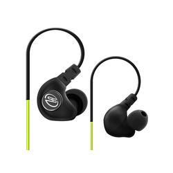 deleyCON SOUNDSTERS S19 - In-Ear Sport Kopfhörer mit Bügel für alle Mobilgeräte - Grün Kopfhörer