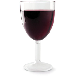 WACA Weinglas (4-tlg), Kunststoff, 200 ml