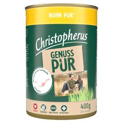(4,83 EUR/kg) Christopherus Pur Huhn 400 g - 6 Stück