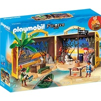Playmobil Pirates Mitnehm-Pirateninsel (70150)