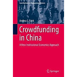 Crowdfunding in China. Andrea S. Funk  - Buch