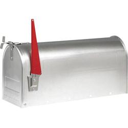 Burg Wächter 18630 US-BOX 892 Alu Briefkasten Aluminium Silber
