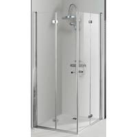 Breuer Elana Komfort Eckeinstieg 90 x 90 cm Alu Chromeffekt/Klarglas CER