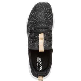 adidas Cloudfoam Pure black-dark grey/ white, 38