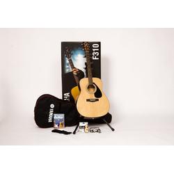 Yamaha Westerngitarre Dreadnought Westerngitarrenset mit Gitarrenständer 4/4