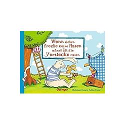 Wenn sieben freche kleine Hasen schnell in die Verstecke rasen / Wenn sieben Hasen Bd.2. Sabine Praml  - Buch