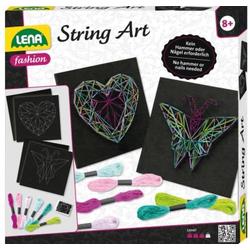 LENA String Art Schmetterling & Herz 42650