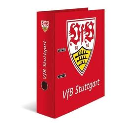 HERMA 19097 5x Motiv-Ordner A4 VfB Stuttgart Rot