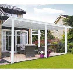 Home Deluxe 8398 Terrassenüberdachung, 495 x 226/278 x 303 cm