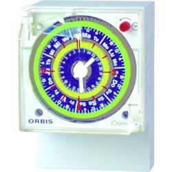 ORBIS Zeitschalttechnik CRONO QRD 230V Aufputz-Zeitschaltuhr analog 250 V/AC