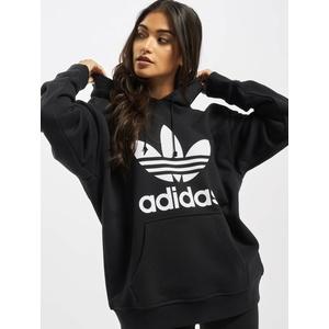 adidas Originals Hoody Frauen  Trefoil in schwarz