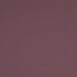 Duni Zelltuch Servietten 33x33 3lg 1/4 plum - 4x250 Stück