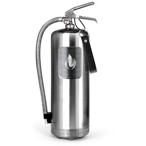 Nordic Flame Pulver-Feuerlöscher Nordic Flame Feuerlöscher Edelstahl Poliert 6 Kg
