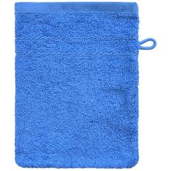 Dyckhoff Waschhandschuh ''Kristall'' Kobalt - Blau 16 x 21 cm