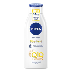 NIVEA Q10 Hautstraffende Body Lotion + Vitamin C, 400 ml