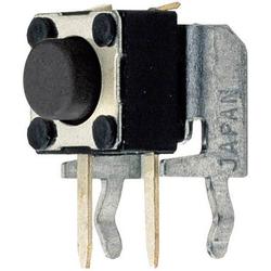 Weltron T632 Drucktaster 24 V/DC 0.05A 1 x Aus/(Ein) tastend