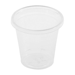 BIO Schnapsglas 30ml Bio-Kunststoff (PLA) 100 Stk.