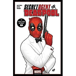 Deadpool: Secret Agent Deadpool. Marvel Comics  - Buch