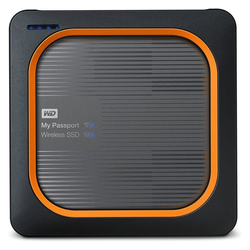Western Digital WD My Passport Wireless Pro SSD 1TB SSD-Festplatte