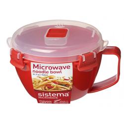 Mikrowellen-Nudelkocher rot