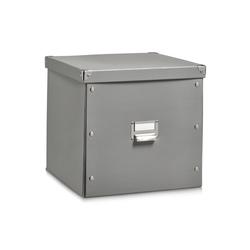 HTI-Living Aufbewahrungsbox Aufbewahrungsbox mit Deckel, Aufbewahrungsbox grau
