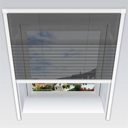 Uno-Insektenschutz-Plissee, 134 x 160 cm für Dachfenster