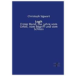 Logik. Christoph Sigwart  - Buch