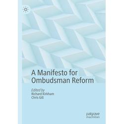 A Manifesto for Ombudsman Reform als Buch von