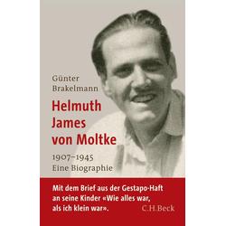 Helmuth James von Moltke als Buch von Günter Brakelmann