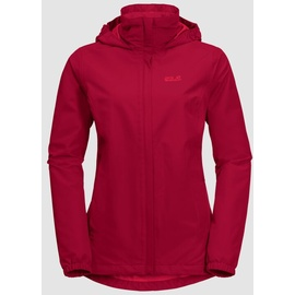 Jack Wolfskin Stormy Point Jacket W scarlet M