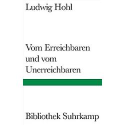 Vom Erreichbaren und vom Unerreichbaren. Ludwig Hohl  - Buch