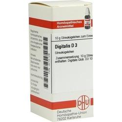 DIGITALIS D 3 Globuli 10 g