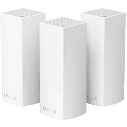 LINKSYS Repeater Velop Whole Home Mesh WLAN-System (3er-Pack) weiß