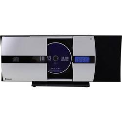 SoundMaster DISC5000 Stereoanlage AUX, CD, UKW, USB, Wandmontage 2 x 50W Schwarz, Silber