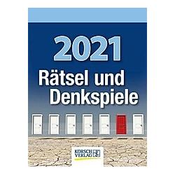 Rätsel und Denkspiele 2021 - Kalender