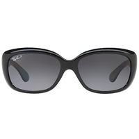 Ray Ban Jackie Ohh RB4101 601/T3 58-17 black/grey gradient
