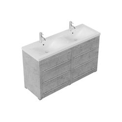 Emotion Waschtisch Stand Badmöbel Gallo Modern beton