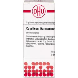 LM CAUSTICUM Hahnemanni XII Globuli 5 g