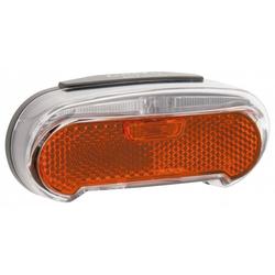 AXA Fahrradbeleuchtung Rücklicht AXA Riff Steady LED, Gepäckträger, 80 mm
