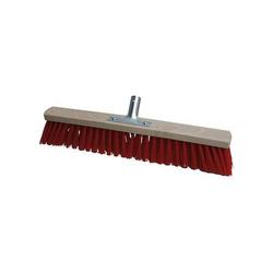 Industriebesen & Saalbesen, Kehrbesen, Straßenbesen, Ersatzbesen - Metallhalter - Größe:600 mm