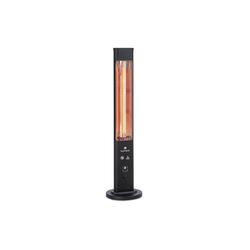 blumfeldt Terrassenstrahler Heat Guru Plus In & Out Heizstrahler 1200W 3 Heizstufen Fernbedienung