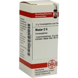 MADAR D 6 Globuli 10 g