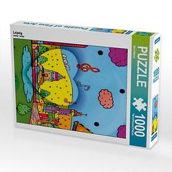 Leipzig Lege-Größe 48 x 64 cm Foto-Puzzle Bild von Nico Bielow Puzzle