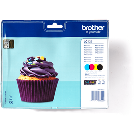 Brother LC-123 CMYK